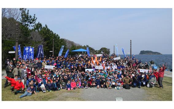 第10回10,000メートルプロムナードクリーン作戦 平成29年3月12日(日曜日)