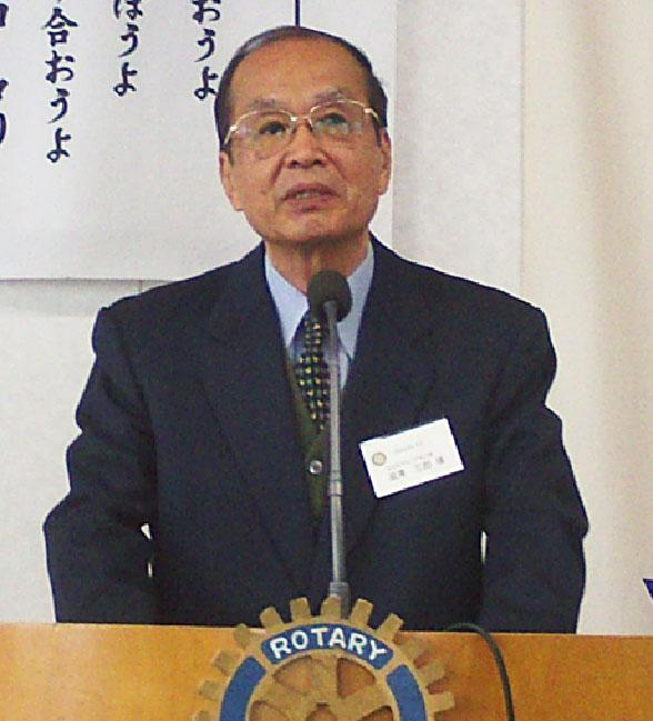 <卓話>「 アラブからみた日本のビジネスと国際化 」