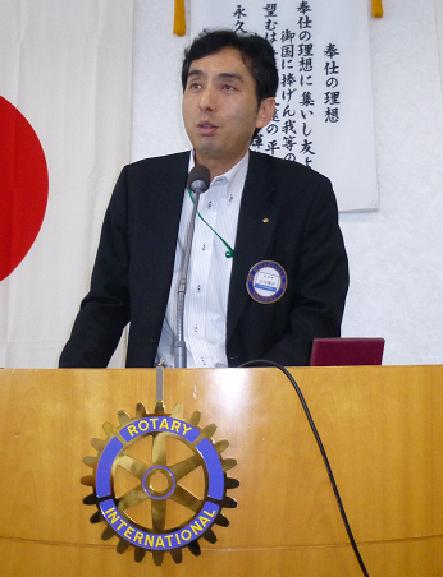 <新会員卓話>2011年6月入会 山 田 雅 章 会員