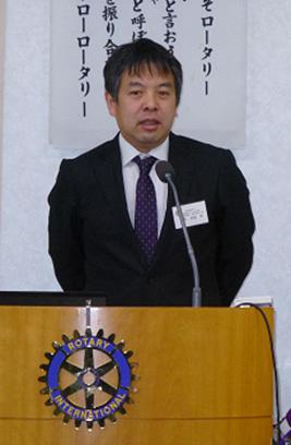 <卓話>  「 横須賀市の救急医療と災害医療 」