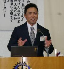 <卓話>「パワーリフティングとは!?世界で活躍する現役日本代表のアスリート」